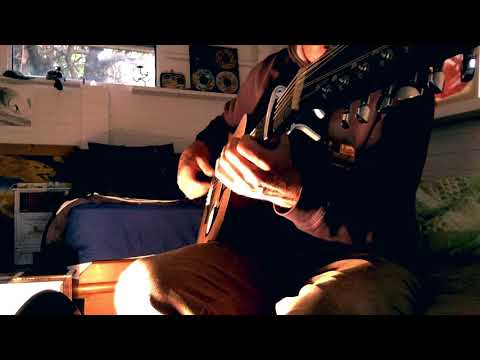 More Experimental Guitar : Finger Style 12 String Open Tuning - Ylia Callan Guitar
