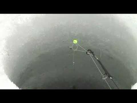 Ice fish 39 n and spring bobber youtube for Ice fishing bobbers