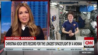 Astronaut Christina Koch lands back on Earth after a record-breaking 328 days in space