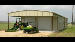 Watch the WD Metal Building crew erect this metal building in one day!.... #Texasmetalbuilding #texassteelbuilding #metalbuiding #