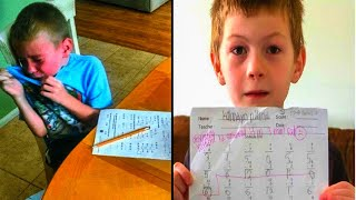 After Teacher Leaves Rขde Comment On Boy's Homework, His Dad Calls Her Out