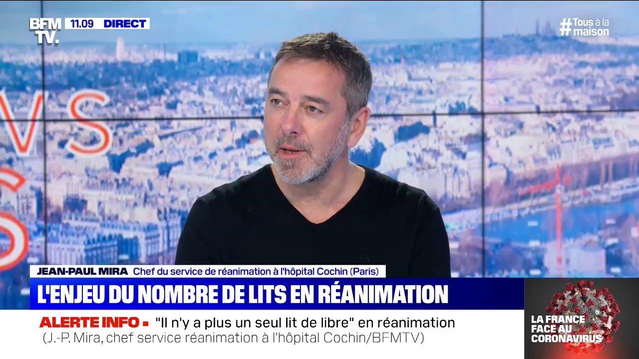 """Jean-Paul Mira (chef de service en réanimation): """"Il va y avoir une hécatombe aux Etats-Unis&qu"""
