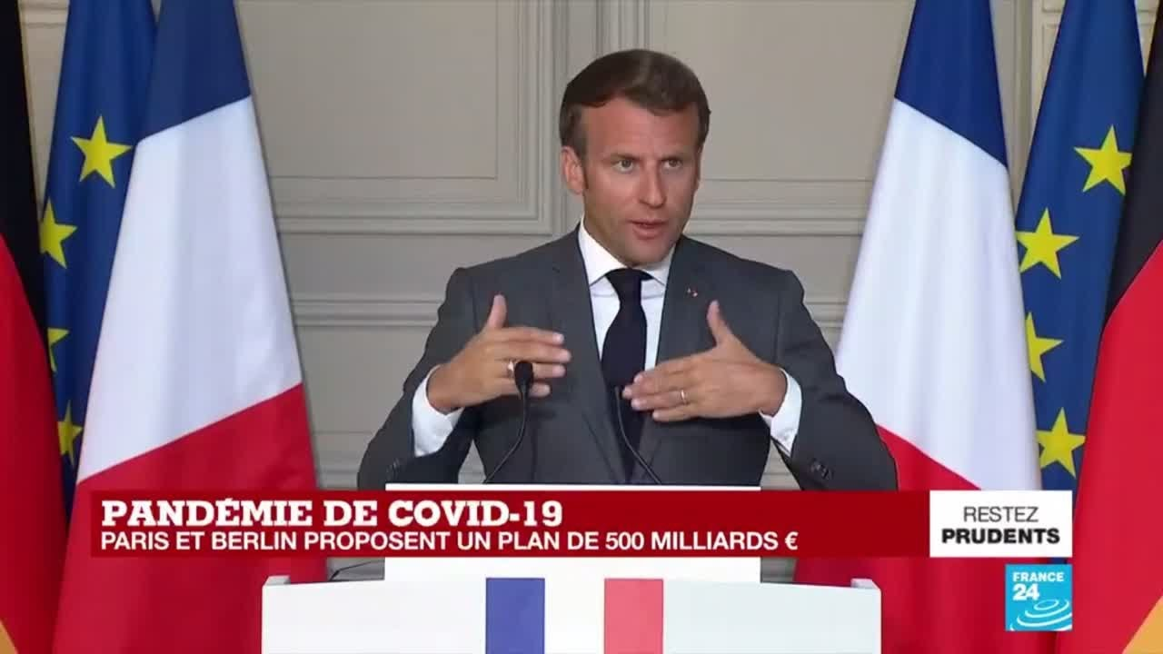 REPLAY - Covid-19 en Europe : les précisions sur le plan de relance proposé par Paris et Berlin