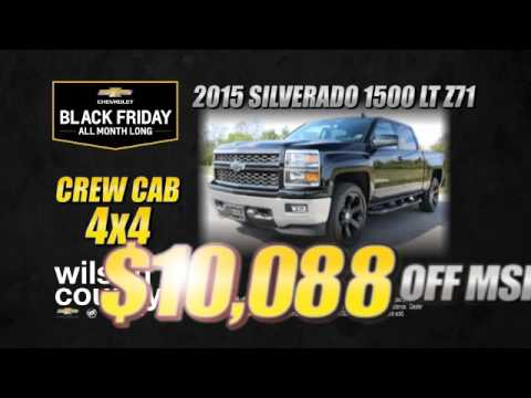 Black Friday Chevy Truck Deals