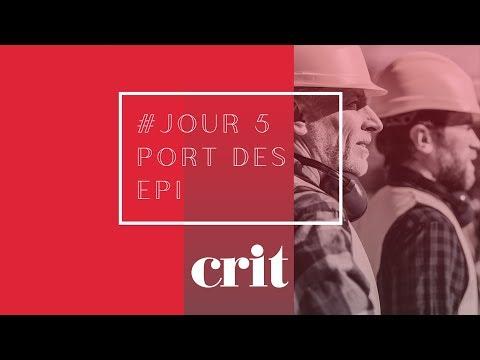 Semaine de la Sécurité - Jour #5 : Le port des EPI