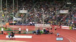 Petter Northug vs Marcus Hellner Bislett Games