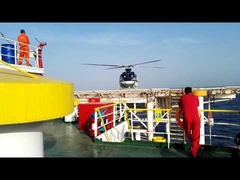 Bell 412 Offshore departure