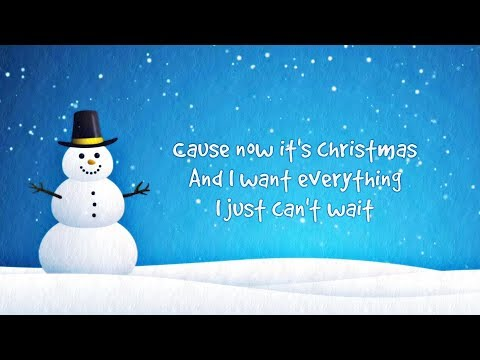 Simple Plan - My Christmas List (Lyric Video)