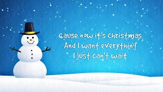 Simple Plan - My Christmas List (Lyrics)
