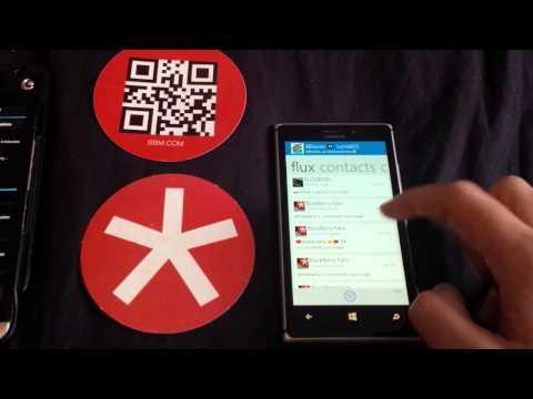BlackBerry-FR: BlackBerry Messenger pour Windows Phone