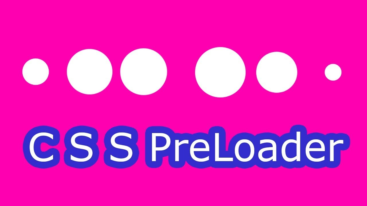 CSS Preloader || CSS animation