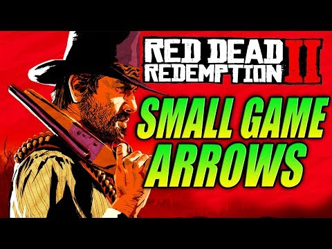 Red Dead Redemption 2 - HOW TO GET SMALL GAME ARROWS