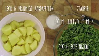 Boerenkoolstamppot recept - Jumbo