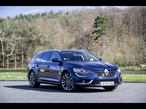 essai renault talisman estate 2016 break ou esth te youtube. Black Bedroom Furniture Sets. Home Design Ideas