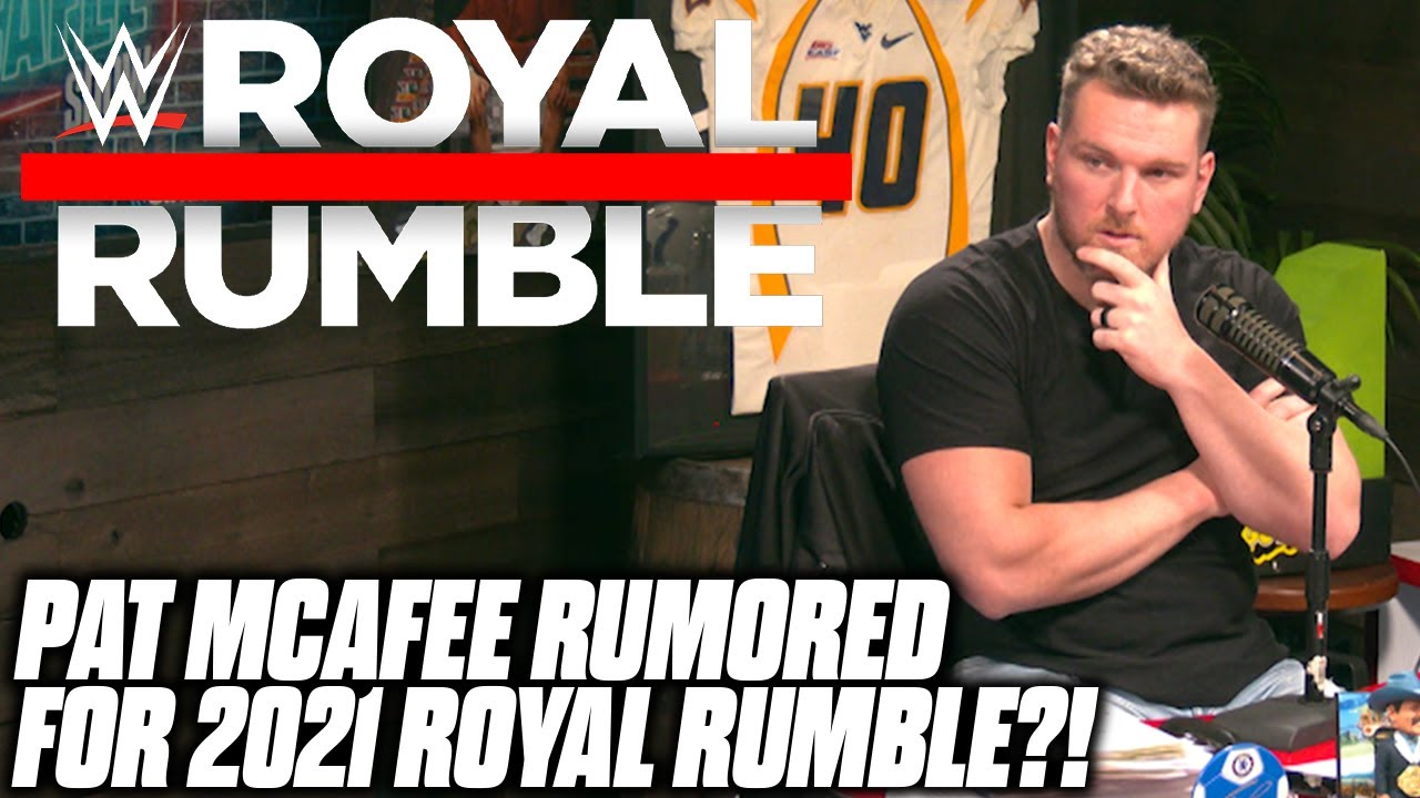 Download Pat McAfee Talks If He Could Show Up In The Royal Rumble
