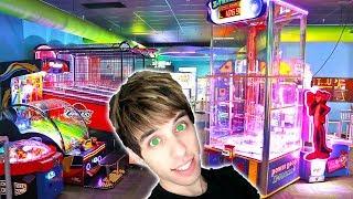 DESTROYING THE GAMES FOR ARCADE TICKETS! | Arcade Nerd | Matt3756