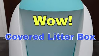 Covered Litter Box for Cats And Kittens