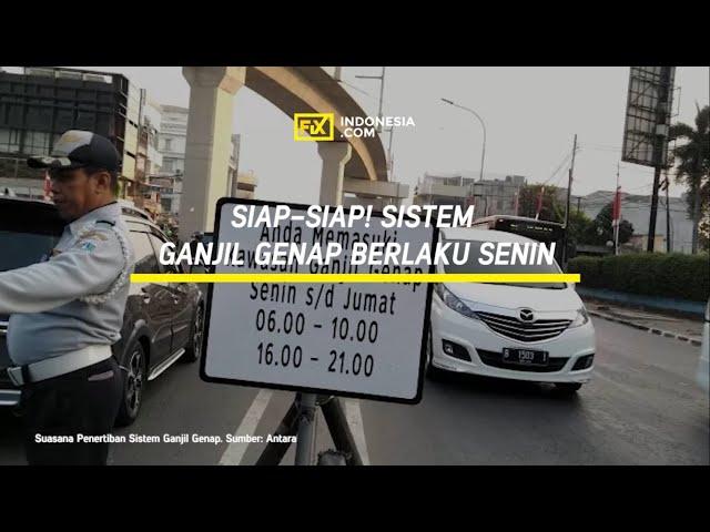 Siap-siap Polda Metro Jaya Kembali Berlakukan Sistem Ganjil Genap Mulai Senin