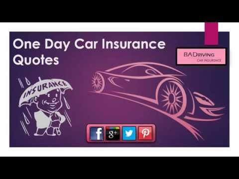 How to Get One Day Car Insurance