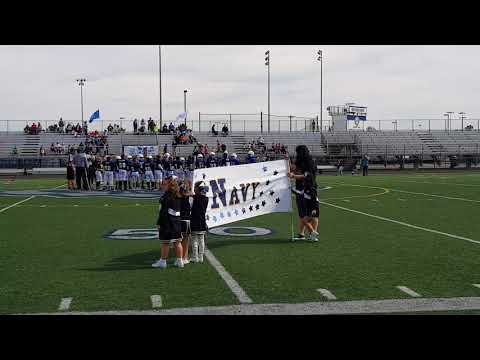 Lucas's Football Game 10/1/17 NAVY vs. AIR FORCE Fishers Football CHAMPIONSHIP GAME
