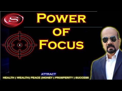 Power of Focus - The secret power of focusing on the one thing| Wilfred Stanley | Rated *****