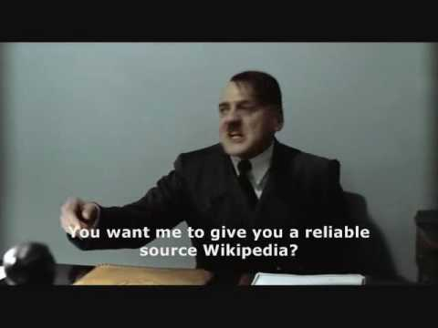 Hitler is banned from Wikipedia