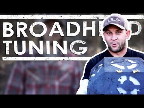 Broadhead Tuning A Compound Bow | The Sticks Outfitter | EP. 29