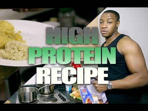 Vegan High Protein Recipe - 50g | Bodybuilder