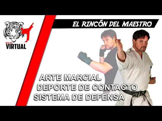 ARTE MARCIAL - DEPORTE DE CONTACTO - SISTEMA DE DEFENSA | EL RINCÓN DEL MAESTRO