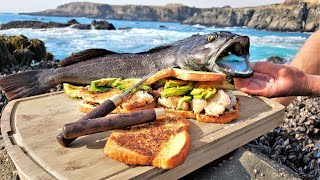 I Went Fishing and Made THE BEST Fish Sandwich