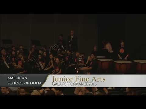 Junior Fine Arts Festival at AS Doha 2015