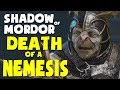Shadow of Mordor Funny Moments - DEATH OF A NEMESIS