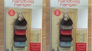 Handbag Hanger, A Perfect Solution For Organizing Your Handbags