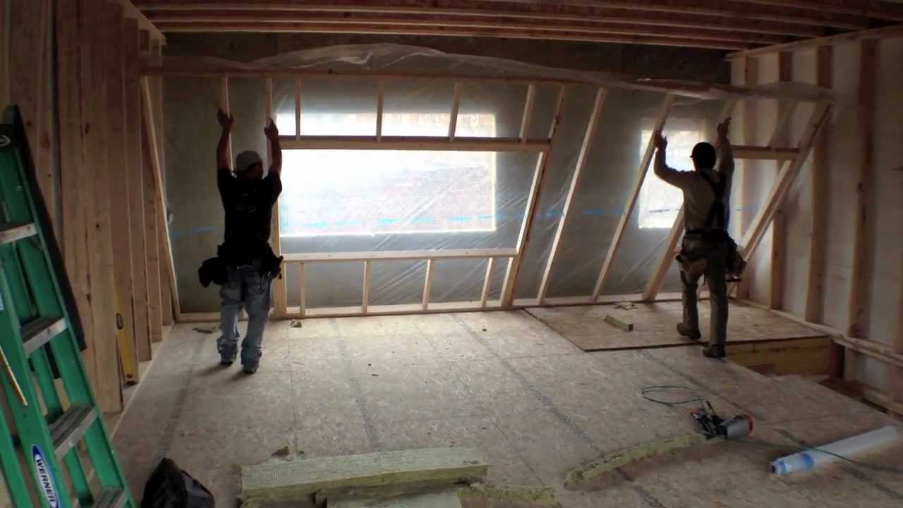 Double Stud Wall By Postgreen Homes Youtube