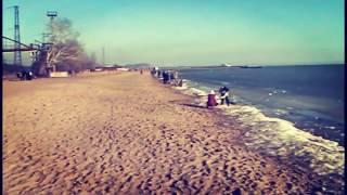 Sea of Azov Mariupol 30.01.2016  Азовское море 30.01.2016 Мариуполь