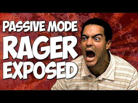 GTA Online | Passive Mode Rager Exposed | Funny Trolling