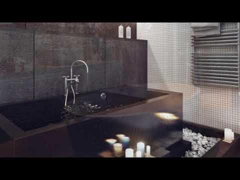 The Best Masculine Bathroom FurnitureHouse Designs.mp4
