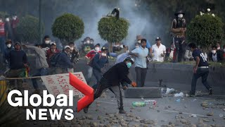 Deadly political crisis deepening in Bolivia
