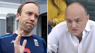 video: Dominic Cummings' texts reveal Boris Johnson called Matt Hancock 'totally f------ hopeless'