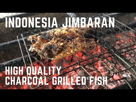 Indonesia Bali Jimbaran (Fish Market) High Quality Charcoal Grilled Fish 'Junkie, Grouper'