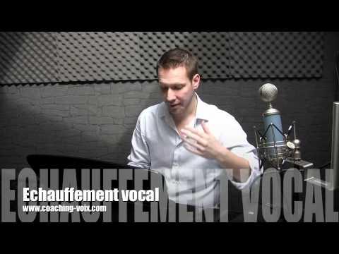 Cours de chant : échauffement vocal