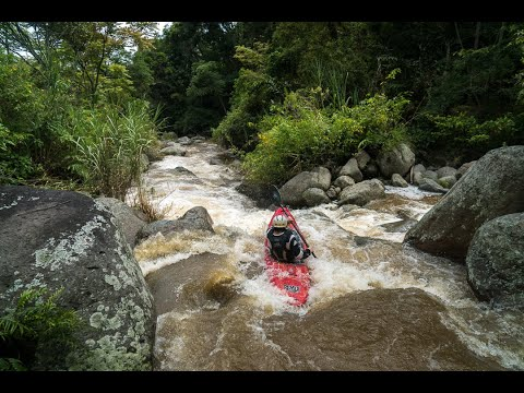 Lost in Sumatra.  A typical Whitewater Kayak Expedition.