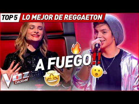 Las MEJORES actuaciones de Reggaeton en La Voz
