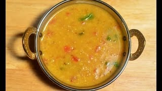 Moong Masoor Dal @ Guru's Cooking