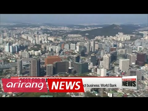 South Korea has world's fourth-best business environment: World Bank