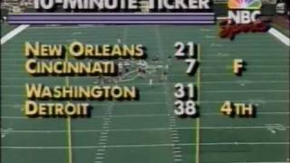 Golic sacks Wilson - 11/4/1990