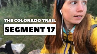 The Colorado Trail, Segment 17: Sargents Mesa to CO Hwy-114 (mile 282.4 - 302.6)