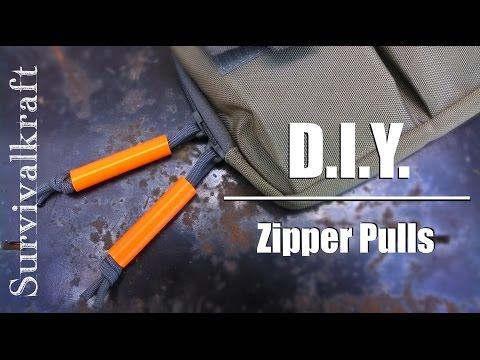 Amazing DIY Zipper Pulls (Easy and Cheap!)