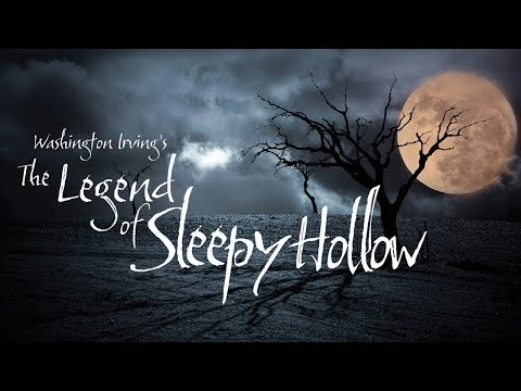 """The Legend of Sleepy Hollow"" audio book Washington Irving ― classic horror story"