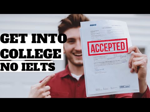 STUDY IN CANADA WITHOUT IELTS! College Application Process In Canada 2020. #CanadaAcceptanceLetter
